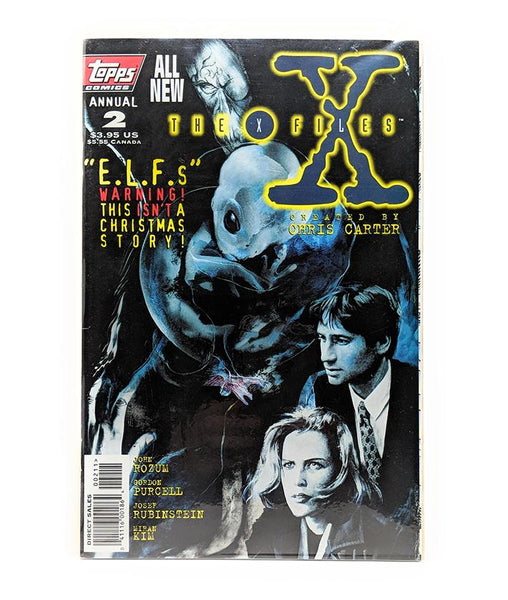 The X-Files Annual #2 (December 1995) Topps Comics, Direct Sales Edition