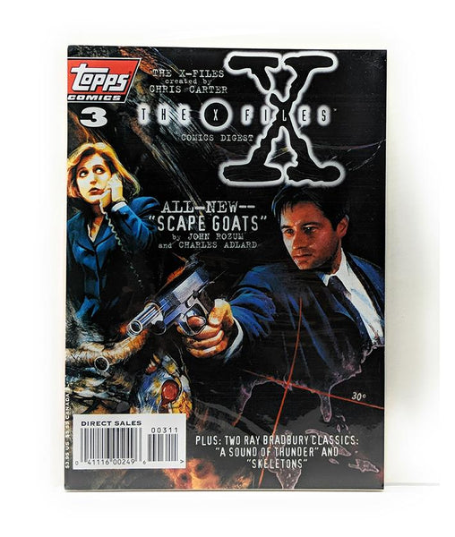 The X-Files Comics Digest #3 (1996) Topps Comics, Direct Sales Edition
