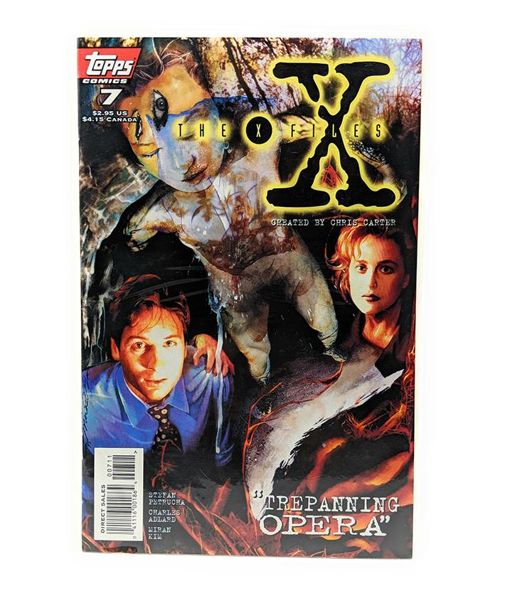 The X-Files #7 (1995) Topps Comics, Direct Sales Edition