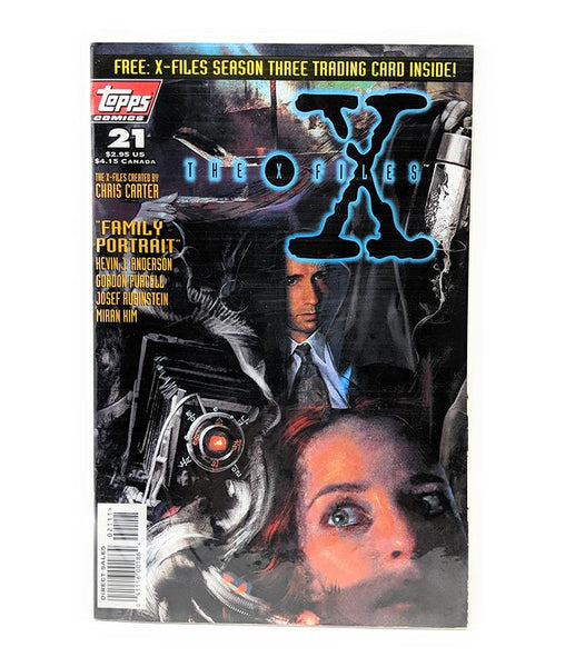 The X-Files #21 (August 1996) Topps Comics, Direct Sales Edition