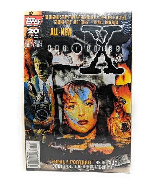 The X-Files #20 (1996) Topps Comics, Family Portrait Part 1, Direct Sales Edition