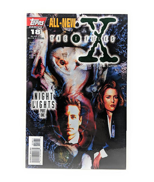 The X-Files #18 (2000) Topps Comics, Night Lights Part One, Direct Sales Edition