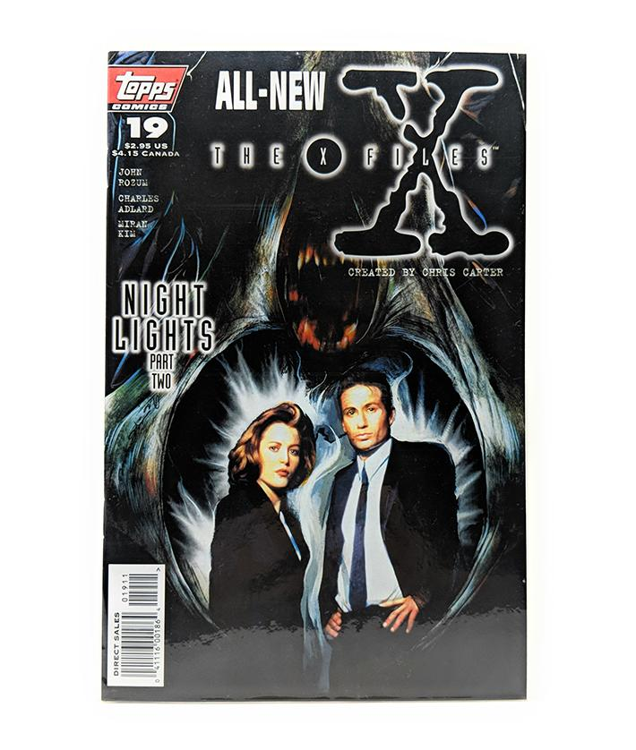 The X-Files #18 (1996) Topps Comics, Night Lights Part 2, Direct Sales Edition
