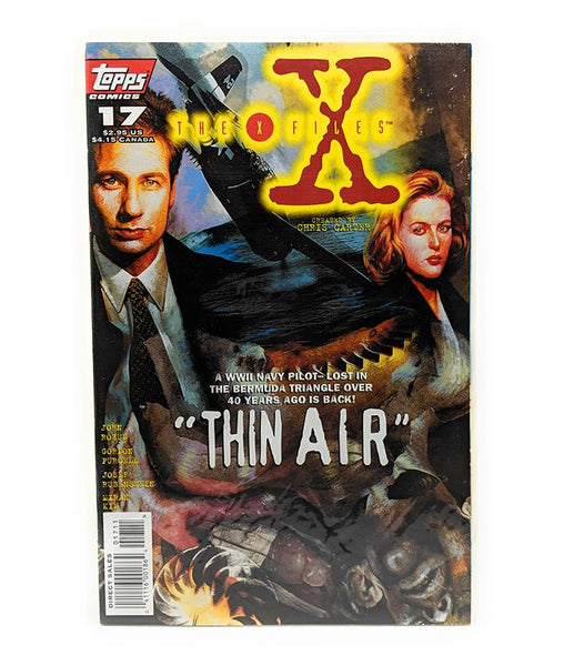 The X-Files #17 (1996) Topps Comics, Thin Air, Direct Sales Edition