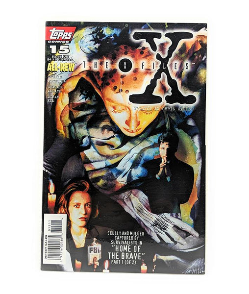 The X-Files #15 (1996) Topps Comics, Home of the Brave Part 1, Direct Sales Edition