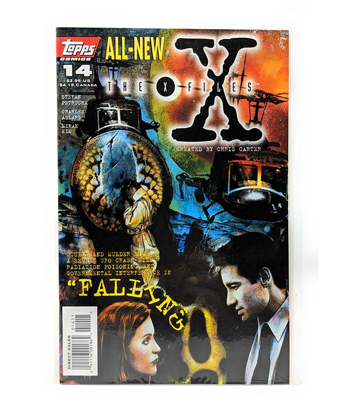 The X-Files #14 (April 1996) Topps Comics, Falling, Direct Sales Edition