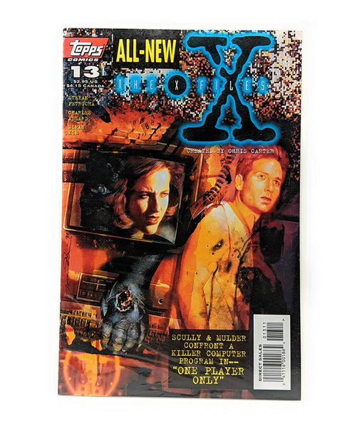 The X-Files #13 (1996) Topps Comics, One Player Only, Direct Sales Edition