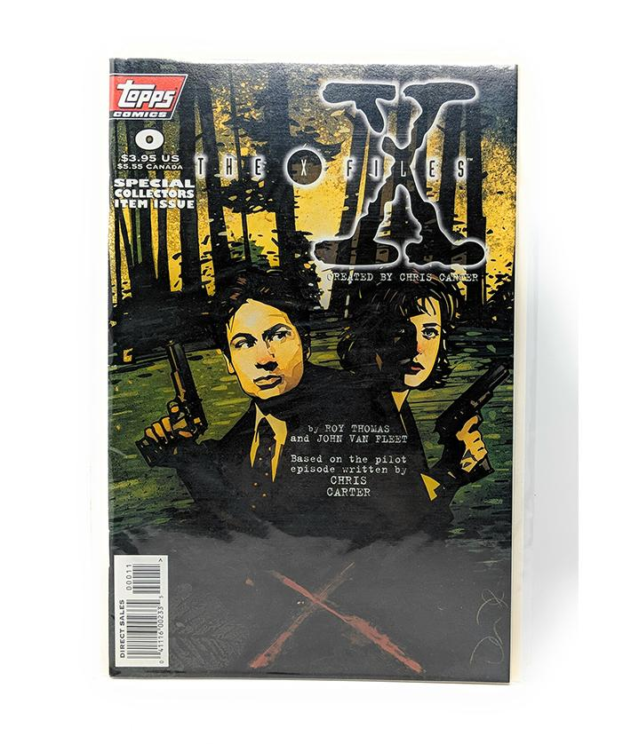 The X-Files #0 Topps Comics Special Collectors Item Issue, Direct Sales Edition