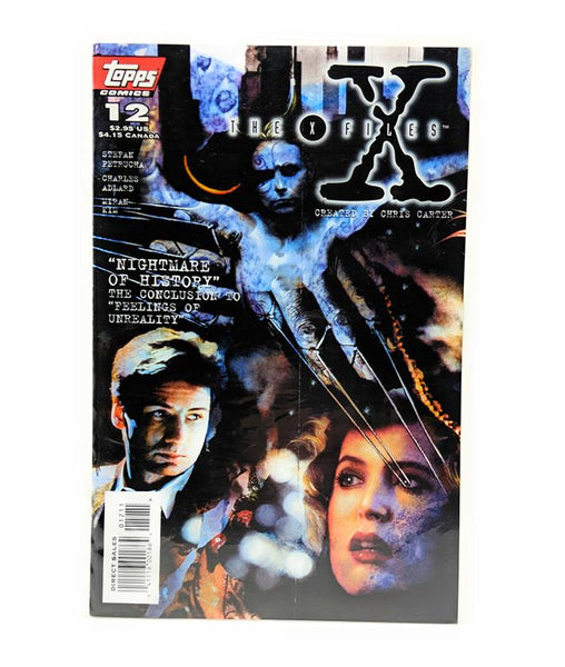 The X-Files #12 (1996) Topps Comics, Nightmare of History, Direct Sales Edition