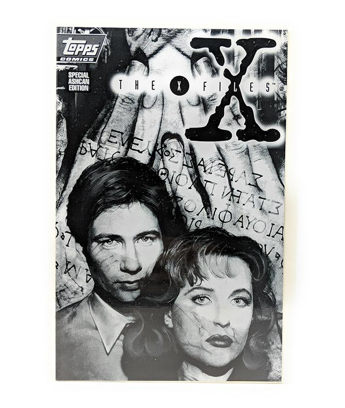 The X-Files Special Ashcan Edition (December 1994) Topps Comics