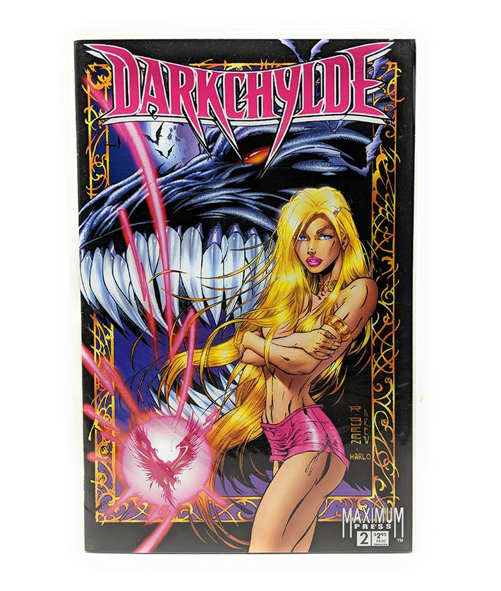 Darkchylde #2 (Vol. 1) Maximum Press Comics, July 1996