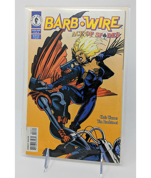 Barb Wire Ace of Spades #3 of 4 (July 1996) Dark Horse Comics, Direct Sales Edition