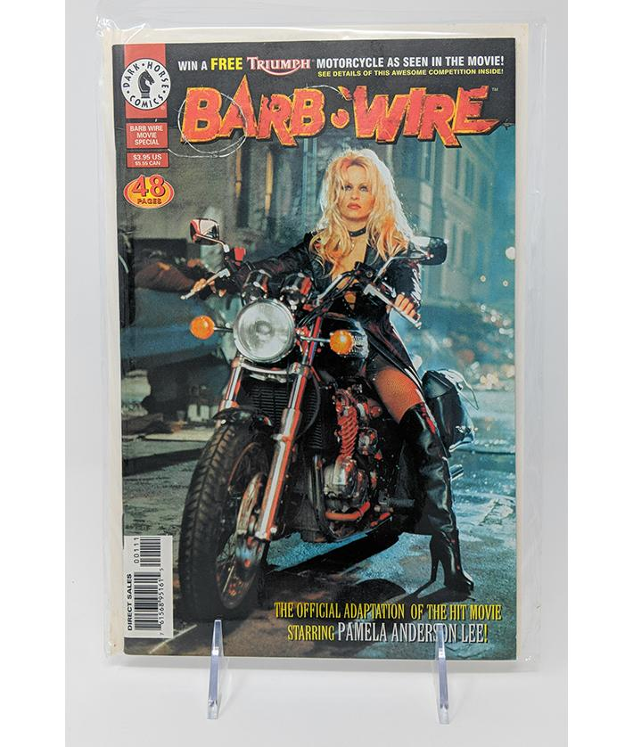 Barb Wire (1996) 48 Page Special Movie Edition Comic Book