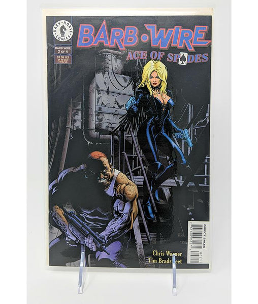 Barb Wire Ace of Spades #2 of 4 (July 1996) Dark Horse Comics, Direct Sales Edition