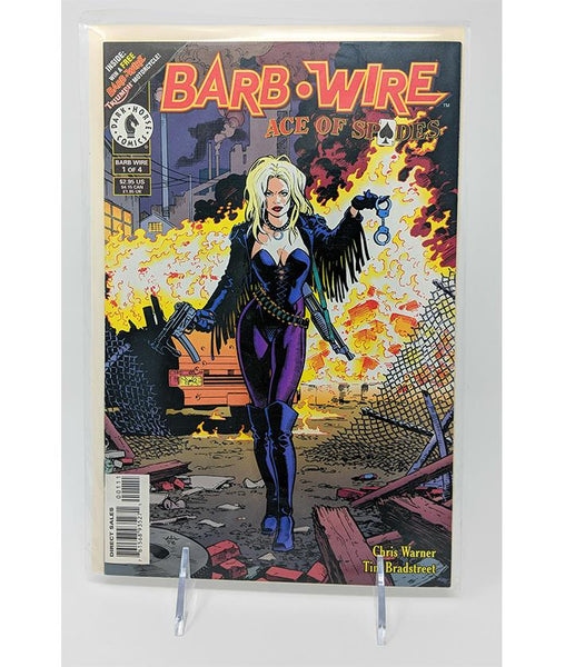 Barb Wire Ace of Spades #1 of 4 (July 1996) Dark Horse Comics, Direct Sales Edition
