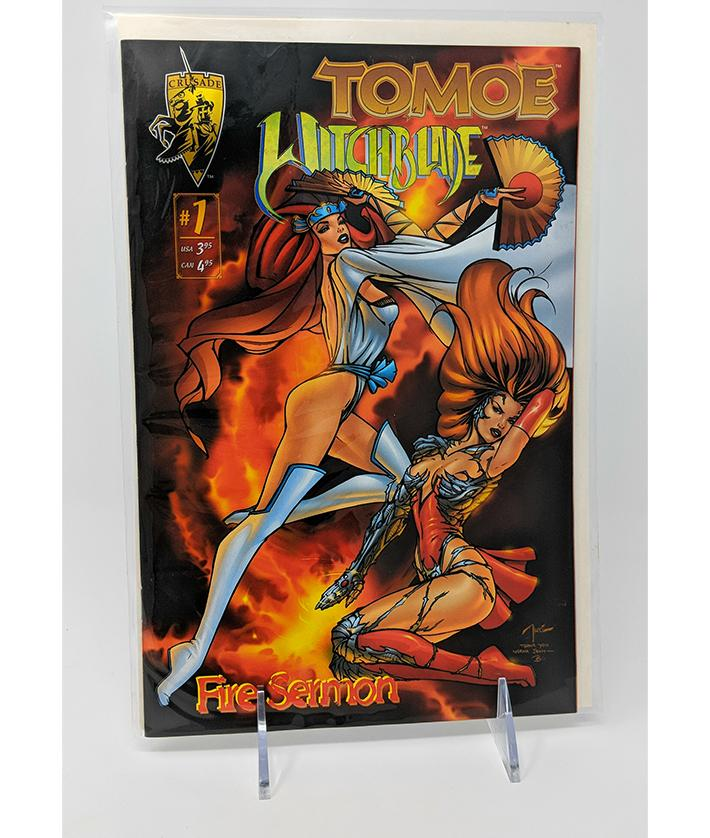 Tomoe / Witchblade #1 (September 1996) Crusade Comics, Fire Sermon