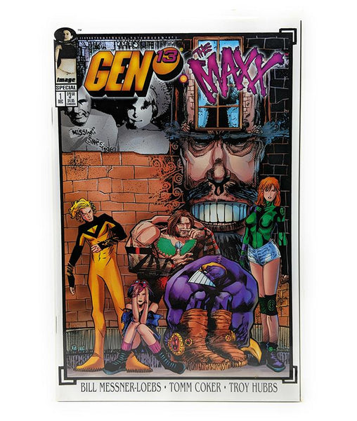 Gen 13 The Maxx #1 (1995) Image Comics Special Edition