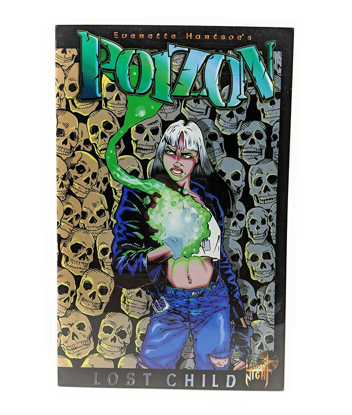 Poizon #1 (January 1996) London Night Comics, Lost Child by Everette Hartsoe