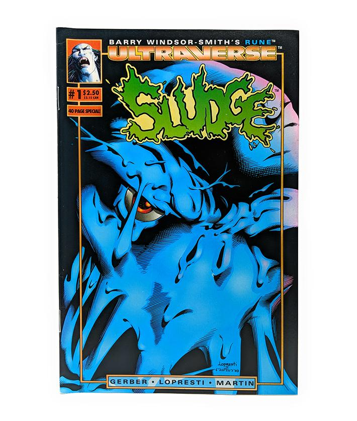 Ultraverse: Sludge #1 (1993) Malibu Comics, Split with Rune