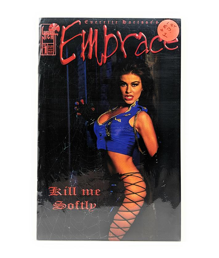 Embrace #1 (1996) London Nights Comics, Kill Me Softly Featuring Carmen Electra