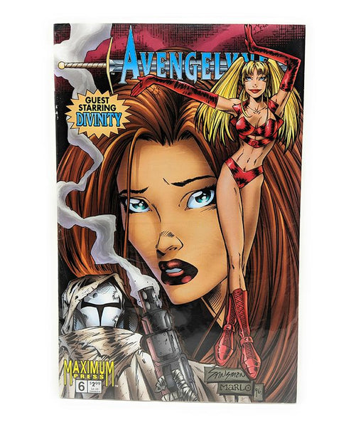 Avengelyne #6 (Vol. 2) with Divinity Maximum Press Comics, September 1996