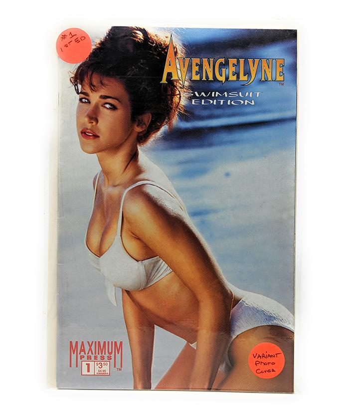 Avengelyne Swimsuit Edition #1 Variant Photo Cover Maximum Press (1996)
