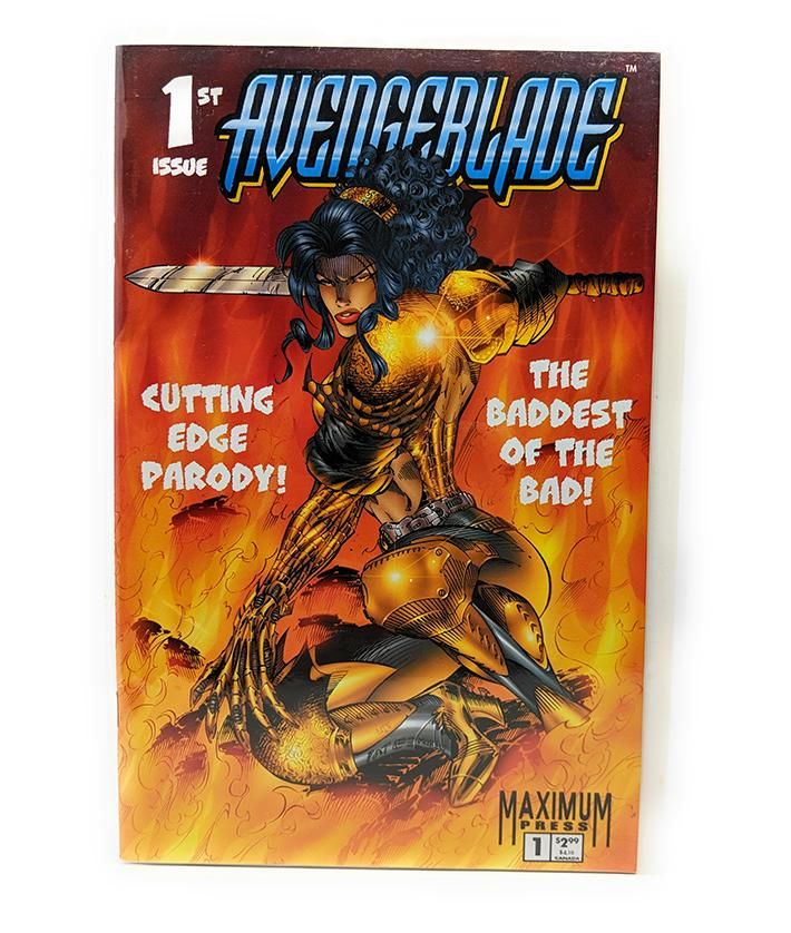 Avengeblade #1 (Vol. 1) Maximum Press Comics, July 1996
