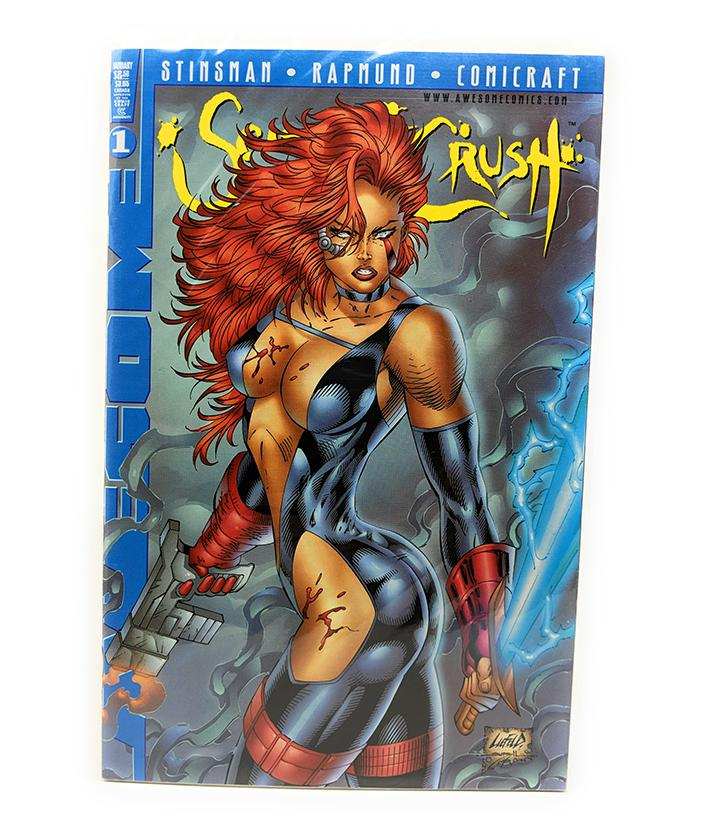 Scarlet Crush #1 (January 1998) by Awesome Comics