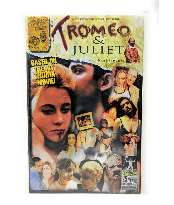 Tromeo & Juliet (1999) Comic Book Based on the Hit Troma Movie
