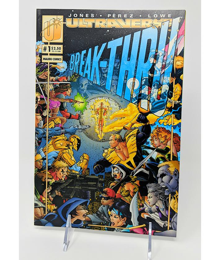 Ultraverse Break-Thru #1 (Vol. 1) Malibu Comics, December 1995