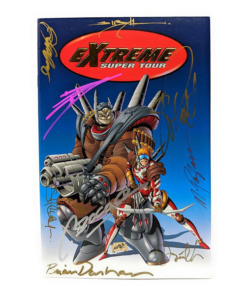 Extreme Super Tour (1994) Signed Comic Book