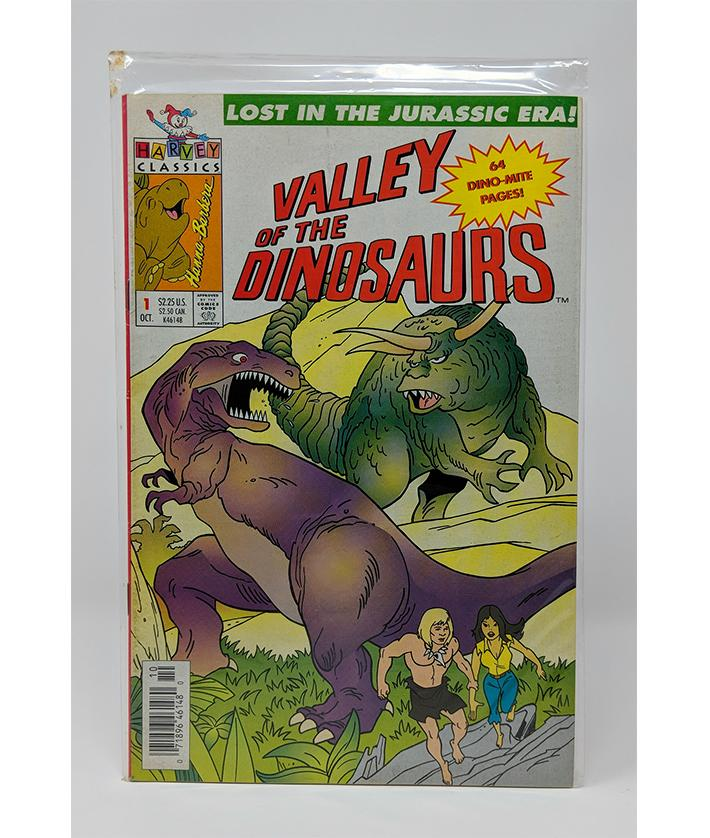 Valley of the Dinosaurs #1 (1993 Charlton Reprint) Harvey Classics Comics