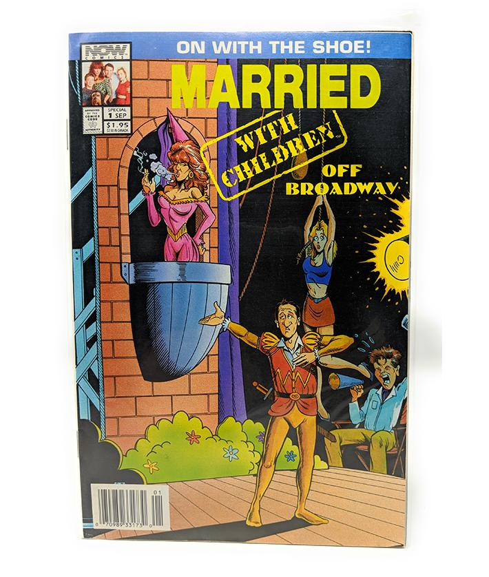 Married With Children - Off Broadway #1 (Sept 1993) Now Comics