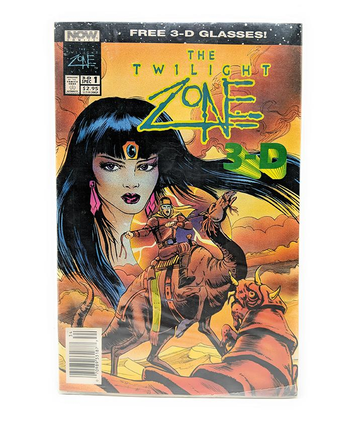 The Twilight Zone 3-D #1 (sealed) Now Comics with 3-D Glasses, April 1993