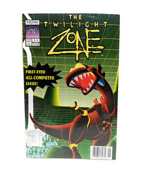 The Twilight Zone #1 (Vol. 3) First Ever All CGI Issue, Now Comics - June 1993