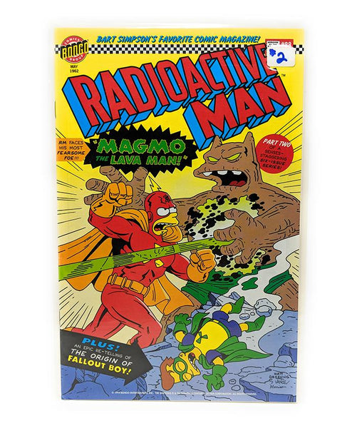 Radioactive Man #2 (1994) Bongo Comics, Part 2 of 6 - Magmo the Lava Man