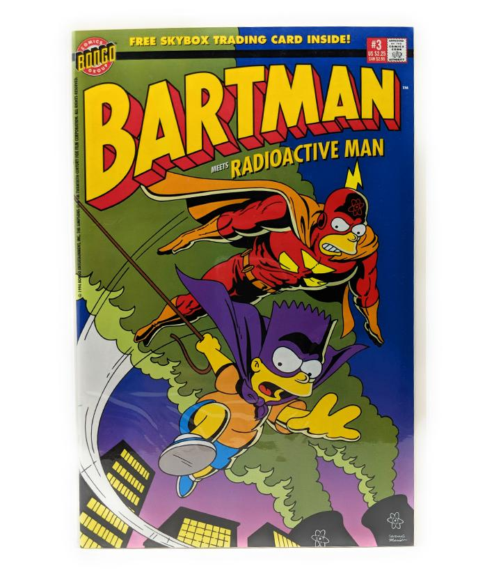 Bartman Meets Radioactive Man #3 (1994) Bongo Comics