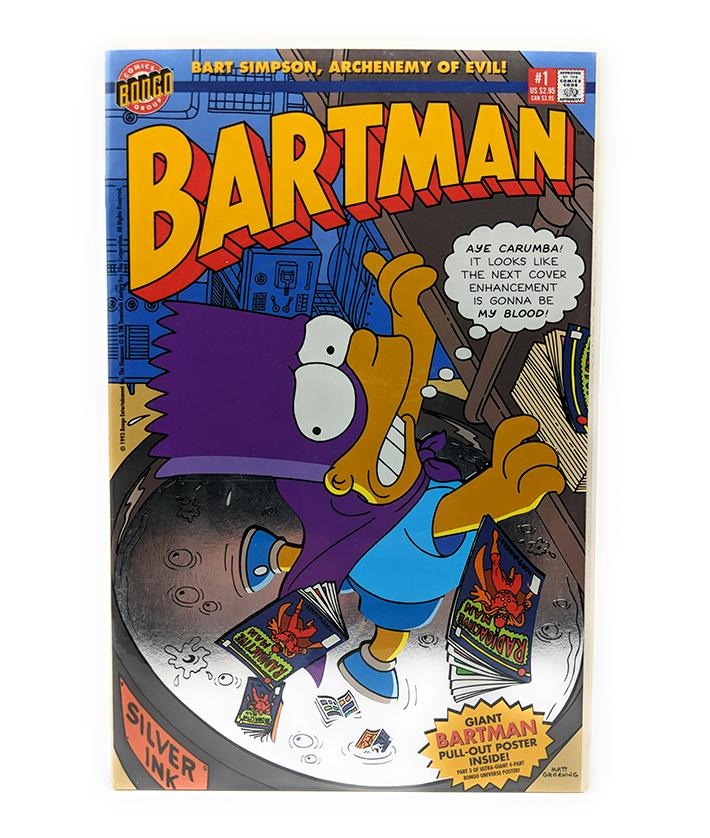 Bartman #1 (1993) Bongo Comics, Poster Piece 3 of 4