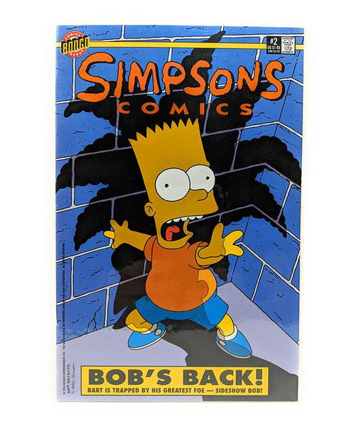 The Simpsons #2 (1994) Bongo Comics, Bob's Back!