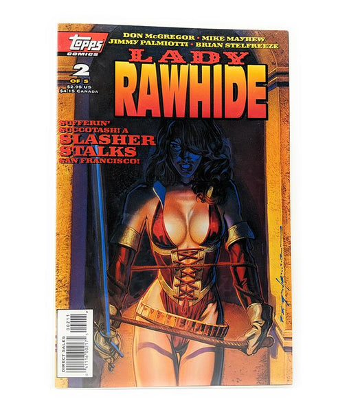 Lady Rawhide #2 of 5 (Sept. 1995) Topps Comics, Direct Sales Edition