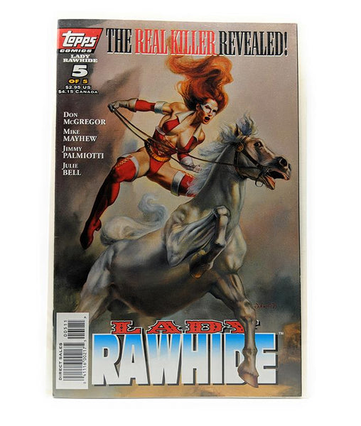 Lady Rawhide #5 of 5 (March 1996) Topps Comics, Direct Sales Edition