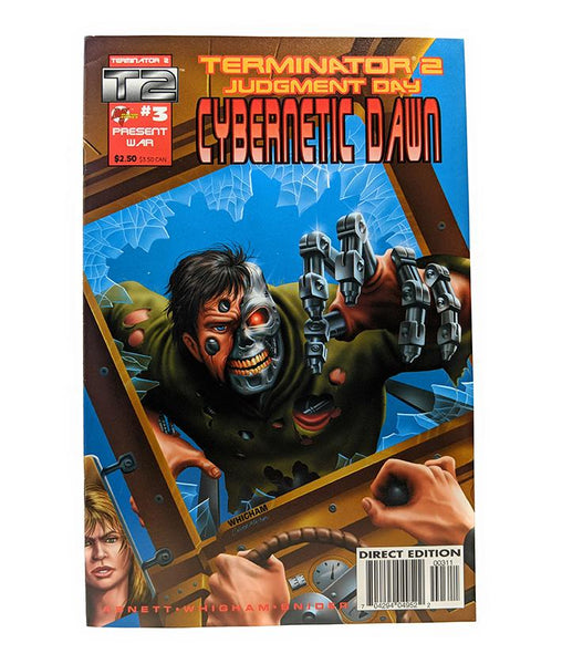 Terminator 2 #3 (Jan. 1996) Cybernetic Dawn, Malibu Comics Direct Edition