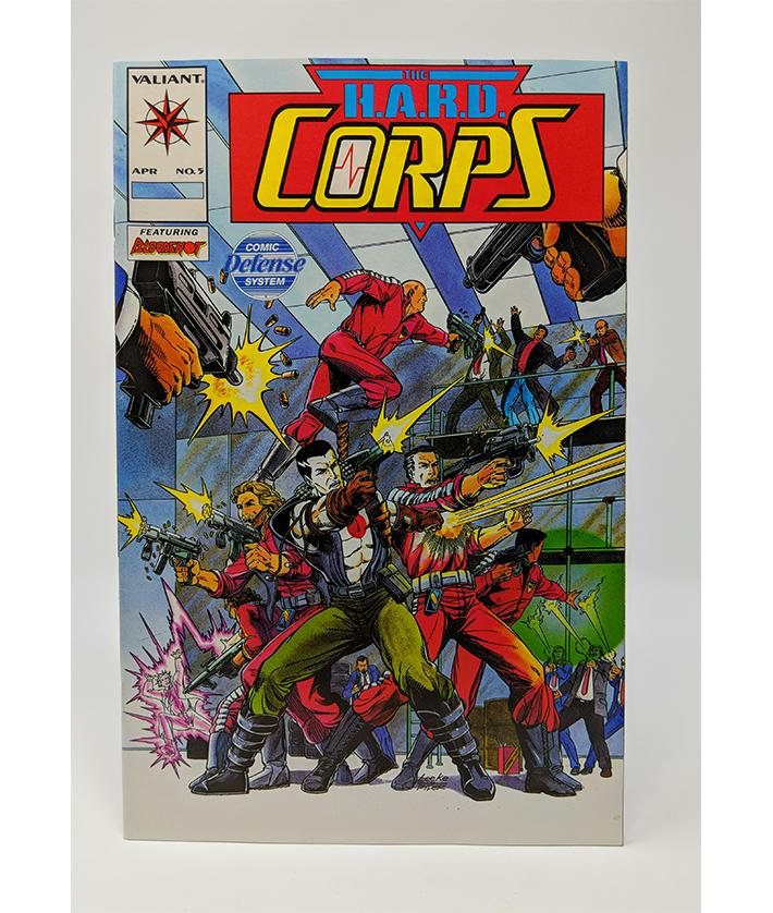 The H.A.R.D. Corps #5 (April 1993) Valiant Comics, Featuring Bloodshot