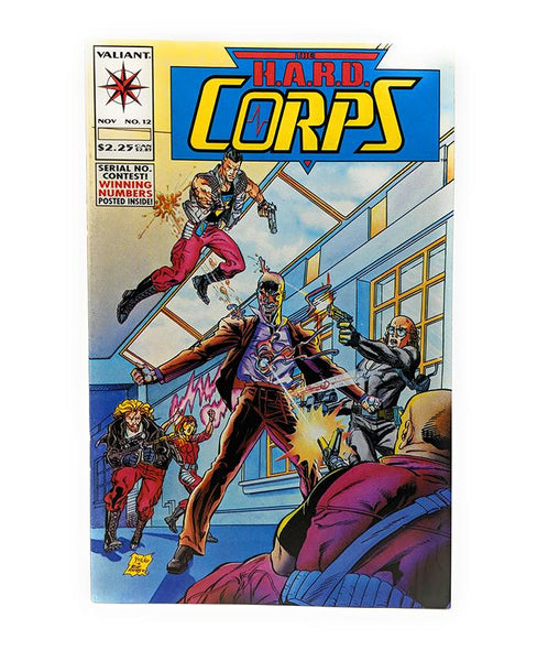 The H.A.R.D. Corps #12 (Nov. 1993) Valiant Comics
