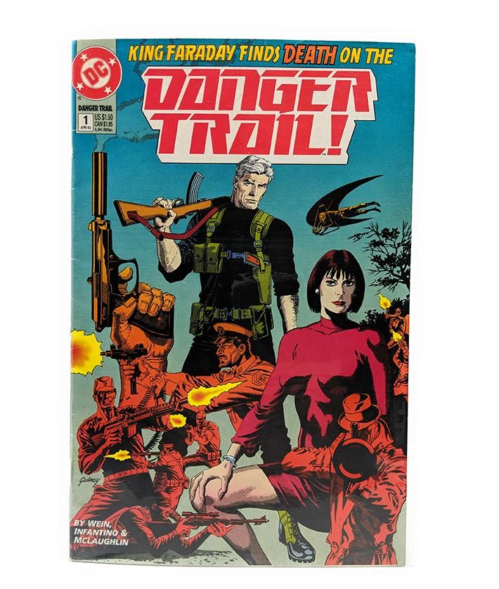 Danger Trail #1 (April, 1993) DC Comics King Faraday Finds Death