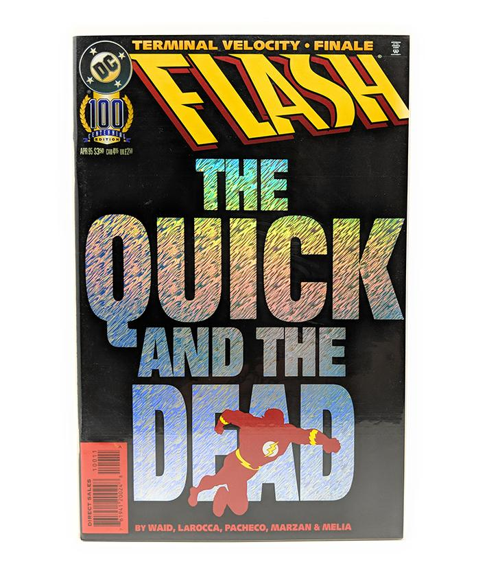 Flash: The Quick and the Dead (April, 1995) DC Comics Centenial Edition - Direct Sales