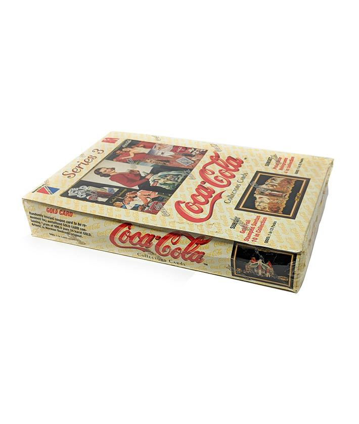 Coca Cola (1994) Series 3 Collectors Trading Cards - Sealed Box
