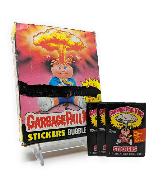 Garbage Pail Kids Series 5 (1986) Topps Wax Pack Trading Cards - Full Box / Not Sealed