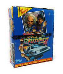 Back to the Future Part II (1989) Wax Pack Trading Cards - Full Box / Not Sealed