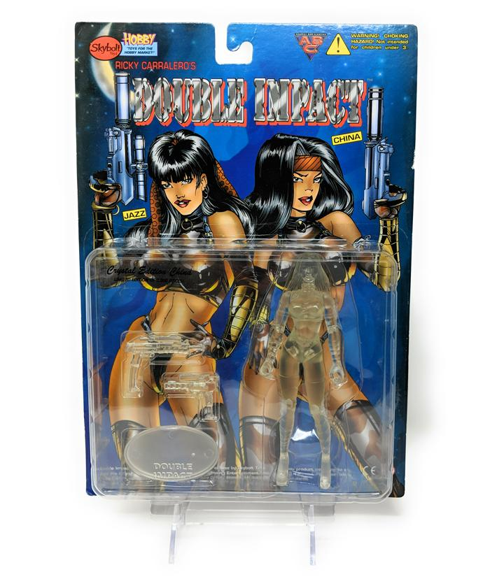 Double Impact (1998) Skybolt Toys, Crystal Edition China Action Figure | Forward Generation